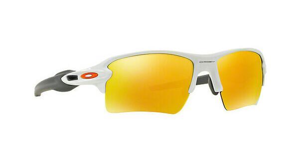 Oakley Herren Sonnenbrille »FLAK 2.0 XL OO9188«, schwarz, 918822 - schwarz/gelb
