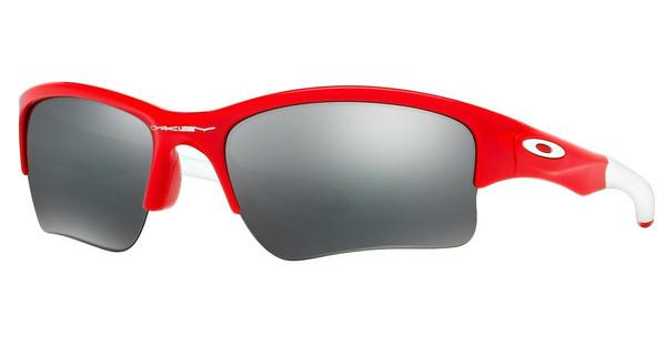 Oakley Herren Sonnenbrille »QUARTER JACKET OO9200«, rot, 920008 - rot/schwarz