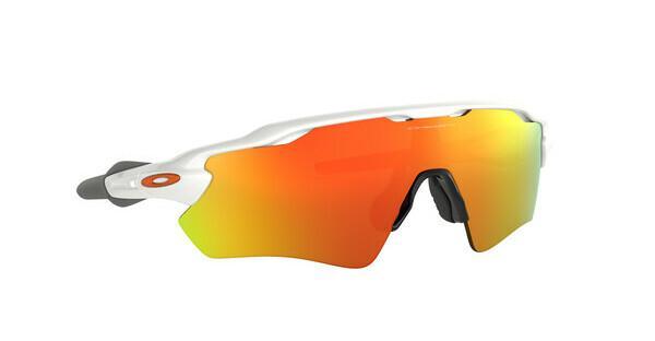 Oakley Herren Sonnenbrille »RADAR EV PATH OO9208«, weiß, 920816 - weiß/gelb