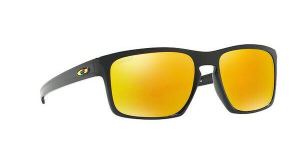 Oakley Herren Sonnenbrille »SLIVER OO9262«, schwarz, 926205 - schwarz/ gelb