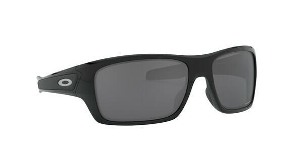 Oakley Herren Sonnenbrille »TURBINE OO9263«, schwarz, 926341 - schwarz/schwarz