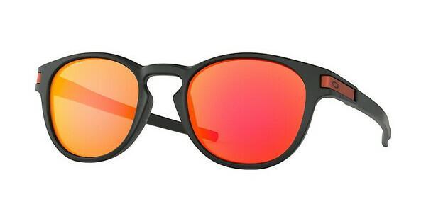 Oakley Herren Sonnenbrille »LATCH OO9265«, schwarz, 926529 - schwarz/rot