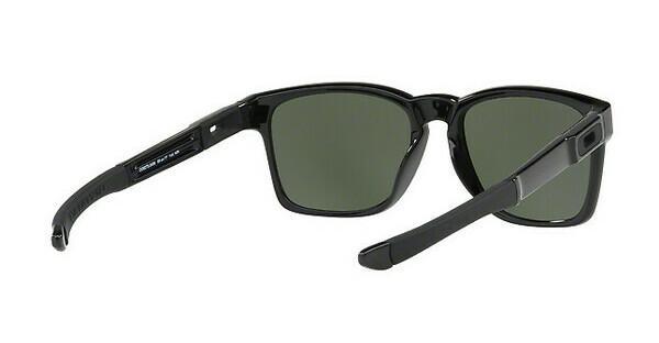 Oakley Herren Sonnenbrille »CATALYST OO9272«, schwarz, 927224 - schwarz/schwarz
