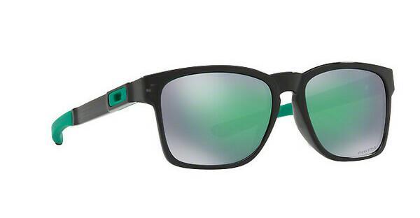 Oakley Herren Sonnenbrille »CATALYST OO9272«, schwarz, 927226 - schwarz/grün