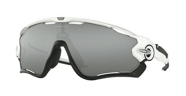 Oakley Herren Sonnenbrille Jawbreaker 929029, Weiß (Polished White/Prizmblack), 31