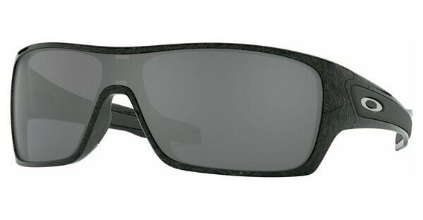 Oakley Herren Sonnenbrille »TURBINE ROTOR OO9307«, schwarz, 930701 - schwarz/grau