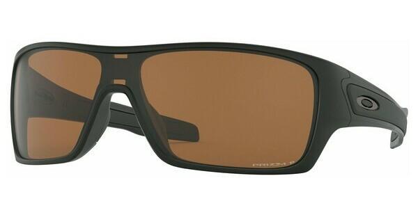 Oakley Herren Sonnenbrille »TURBINE ROTOR OO9307«, schwarz, 930708 - schwarz/blau