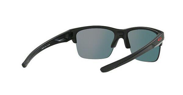 Oakley Herren Sonnenbrille »THINLINK OO9316«, schwarz, 931607 - schwarz/ grau