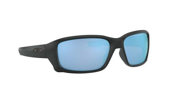 Oakley Herren Sonnenbrille »Straightlink OO9331«, schwarz, 933105 - schwarz/blau