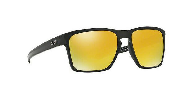Oakley Herren Sonnenbrille »SLIVER XL OO9341«, schwarz, 934115 - schwarz/schwarz