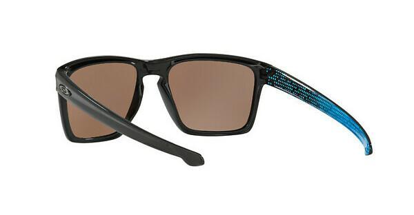 Oakley Herren Sonnenbrille Sliver Xl 934112, Schwarz (Polished Black/Prizmdeeph2Opolarized), 57