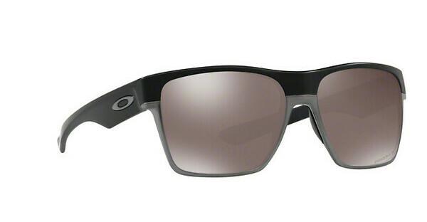 Oakley Herren Sonnenbrille Twoface Xl 935009, Schwarz (Matte Black/Prizmsapphirepolarized), 59