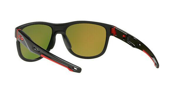 Oakley Herren Sonnenbrille »CROSSRANGE R OO9359«, schwarz, 935908 - schwarz/schwarz