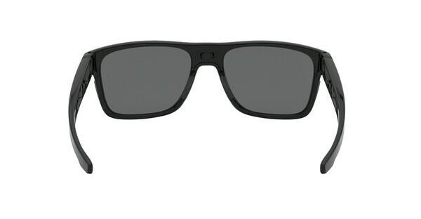 Oakley Herren Sonnenbrille »CROSSRANGE OO9361«, schwarz, 936101 - schwarz/grau