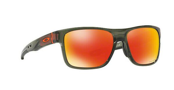 Oakley Herren Sonnenbrille »CROSSRANGE OO9361«, grün, 936111 - grün/rot