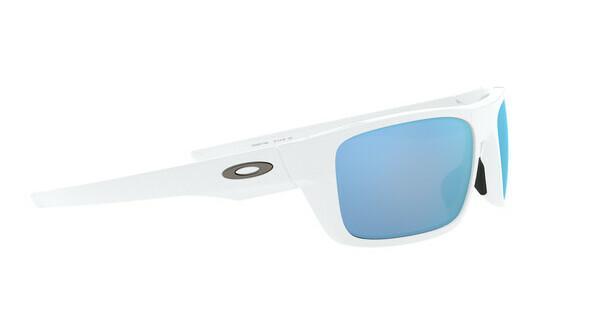 Oakley Herren Sonnenbrille »DROP POINT OO9367«, weiß, 936714 - weiß/blau