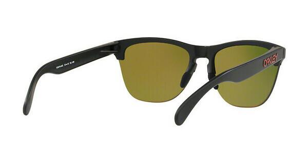 Oakley Herren Sonnenbrille »FROGSKINS LITE OO9374«, schwarz, 937404 - schwarz/rot