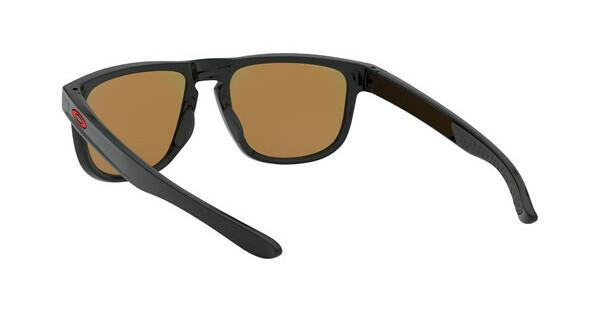 Oakley Herren Sonnenbrille »HOLBROOK R OO9377«, schwarz, 937707 - schwarz/rot