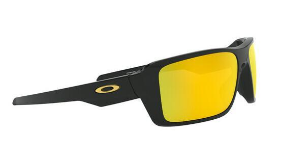 Oakley Herren Sonnenbrille »DOUBLE EDGE OO9380«, schwarz, 938013 - schwarz/blau