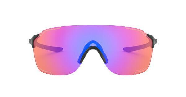 Oakley Herren Sonnenbrille »EVZERO STRIDE OO9386«, schwarz, 938603 - schwarz/rosa