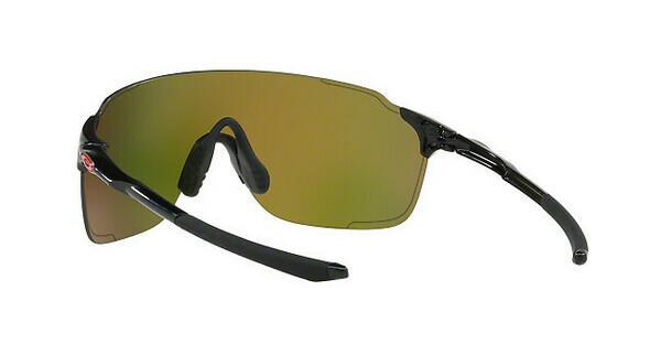 Oakley Herren Sonnenbrille »EVZERO STRIDE OO9386«, schwarz, 938609 - schwarz/rot