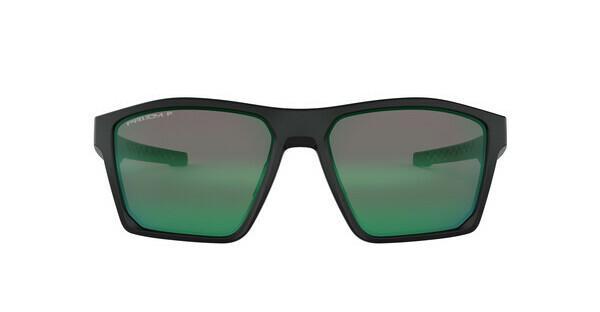 Oakley Herren Sonnenbrille »TARGETLINE OO9397«, schwarz, 939707 - schwarz/grün