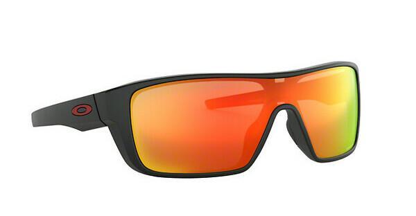 Oakley Herren Sonnenbrille »STRAIGHTBACK OO9411«, schwarz, 941106 - schwarz/rot