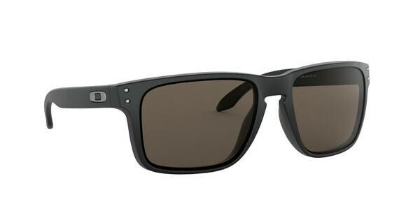 Oakley Herren Sonnenbrille »HOLBROOK XL OO9417«, schwarz, 941701 - schwarz/grau