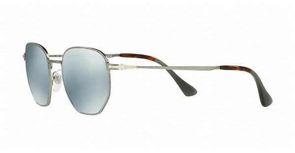PERSOL Persol Herren Sonnenbrille » PO2446S«, grau, 105830 - grau/silber