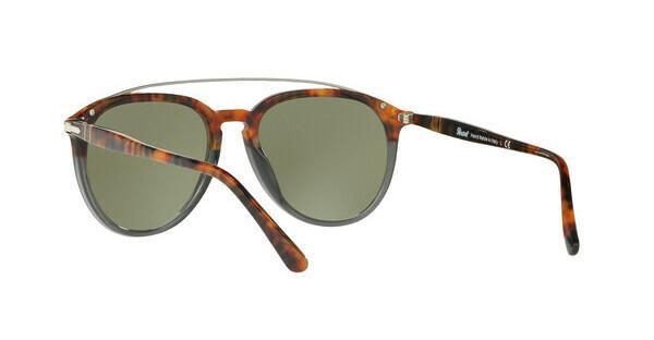 PERSOL Persol Herren Sonnenbrille » PO3159S«, braun, 904430 - braun/silber