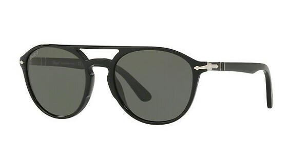 PERSOL Persol Herren Sonnenbrille » PO3170S«, schwarz, 901458 - schwarz/grün