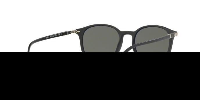 PERSOL Persol Herren Sonnenbrille » PO3182S«, schwarz, 104258 - schwarz/grün
