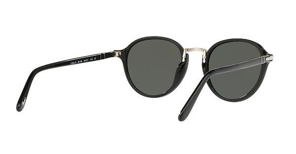 PERSOL Persol Herren Sonnenbrille » PO3184S«, schwarz, 95/58 - schwarz/grün