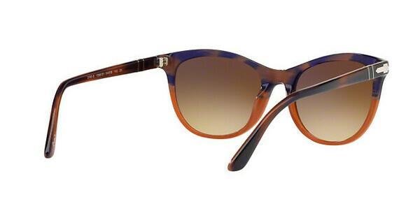 PERSOL Persol Damen Sonnenbrille » PO3190S«, braun, 96/56 - braun/blau