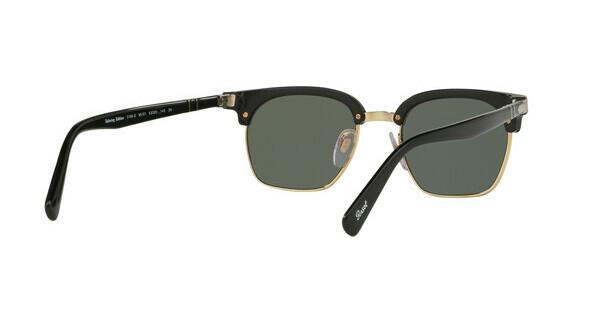 PERSOL Persol Sonnenbrille » PO3199S«, schwarz, 95/31 - schwarz/grün