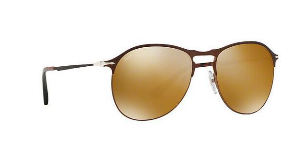 PERSOL Persol Herren Sonnenbrille » PO7649S«, schwarz, 107057 - schwarz/braun