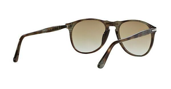 Persol PO9649S Sonnenbrille Havanna Braun Smoke 972/51 52mm cqUrwIRExs