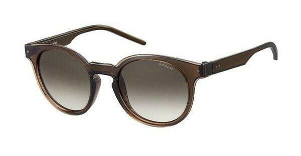 Polaroid Damen Sonnenbrille » PLD 2036/S«, braun, J7M/94 - braun/braun