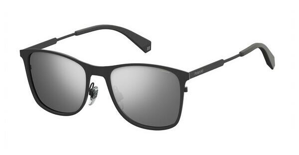 Polaroid Herren Sonnenbrille » PLD 6041/S«, grau, KB7/EX - grau/ silber