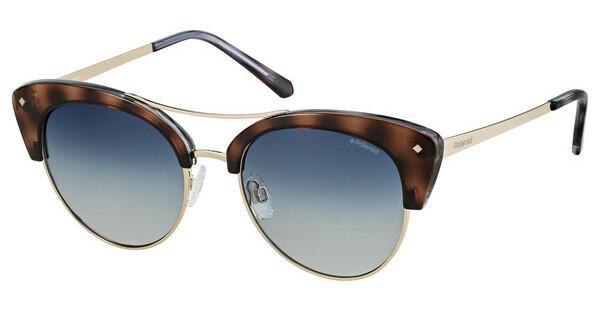 Polaroid Damen Sonnenbrille » PLD 4045/S«, blau, MSS/Z7 - blau/blau