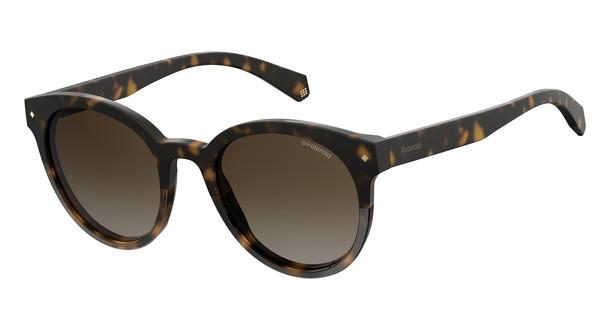Polaroid Damen Sonnenbrille » PLD 4064/F/S/X«, braun, 086/LA - braun/braun