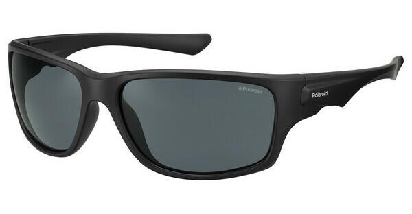 Polaroid Herren Sonnenbrille » PLD 7012/S«, schwarz, OIT/EX - schwarz/ silber