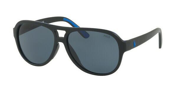 Polo Herren Sonnenbrille » PH4123«, schwarz, 562987 - schwarz/ blau