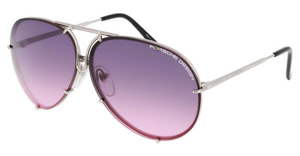 PORSCHE Design Porsche Design Sonnenbrille » P8478«, grau, M - grau/ silber