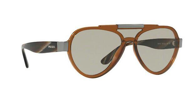 PRADA Prada Herren Sonnenbrille » PR 01US«, braun, VY55J2 - braun/braun