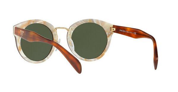 PRADA Prada Damen Sonnenbrille » PR 06US«, braun, TH71I0 - braun/grün