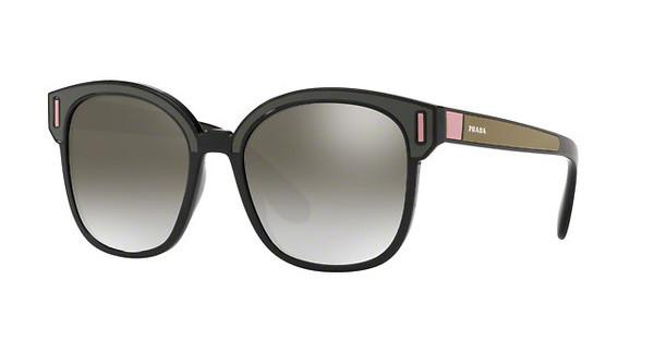 PRADA Prada Damen Sonnenbrille » PR 05US«, schwarz, SVK5O0 - schwarz/silber
