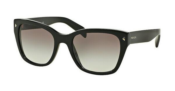 PRADA Prada Damen Sonnenbrille » PR 14US«, schwarz, 1AB0A7 - schwarz/grau