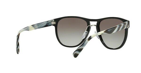 PRADA Prada Herren Sonnenbrille » PR 09US«, schwarz, 1AB0A7 - schwarz/grau