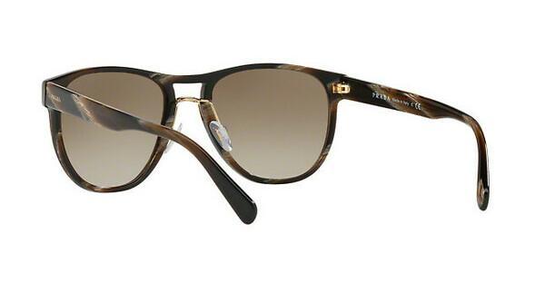 PRADA Prada Herren Sonnenbrille » PR 09US«, braun, C9O1X1 - braun/braun